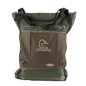 "Holds over 20 standard 2"" bumpers. Durable carry handles."
