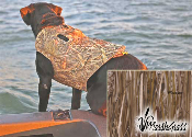 AVERY HUNTING CAMO VEST WITH HANDLES
